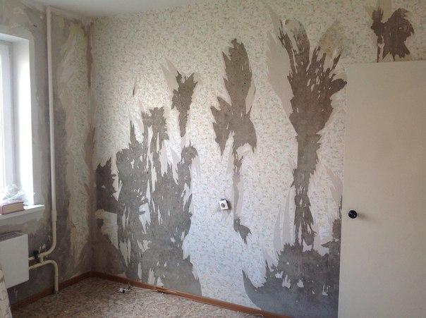 Грунтовка стен под обои
